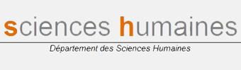 département Sciences-Humaines