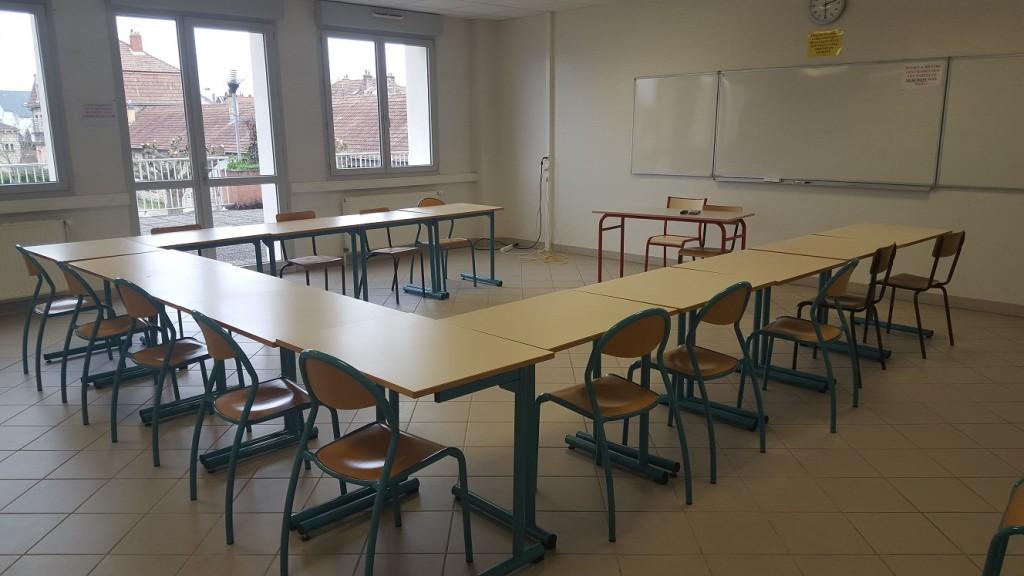 Salle de cours CUCDB